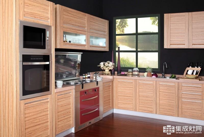 优格集成灶厨房效果图高清图片