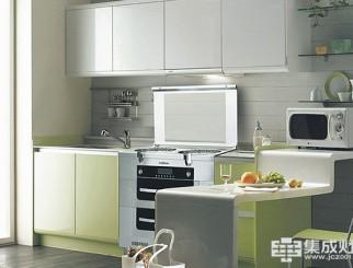 潮邦集成灶厨房效果图