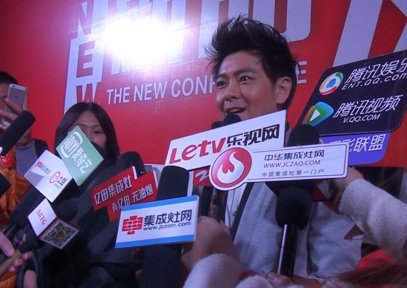 林志颖接受媒体采访