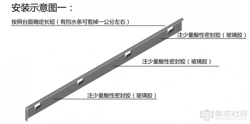 集成灶与台板之间的缝隙怎样处理