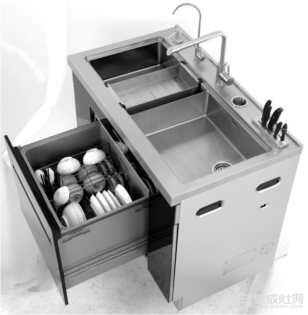 亿田高端集成水槽洗碗机震撼首发