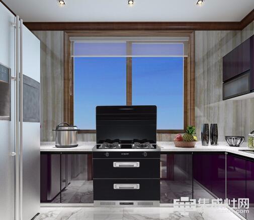 蓝享智能集成灶 小公寓的明智之选