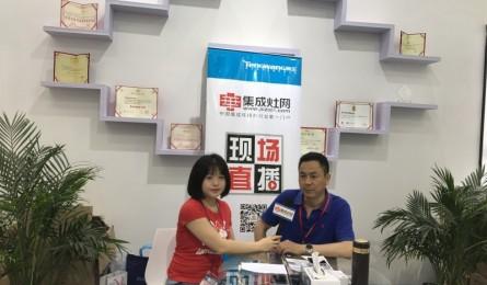 【上海展】邦的集成灶营销总监王景其:好产品 好服务 好口碑