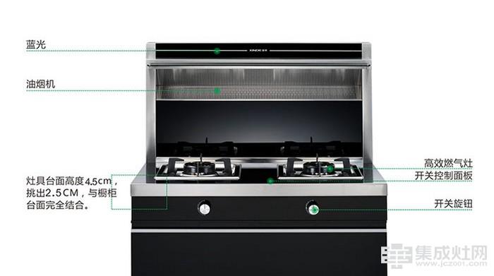 金帝W900A两气集成灶