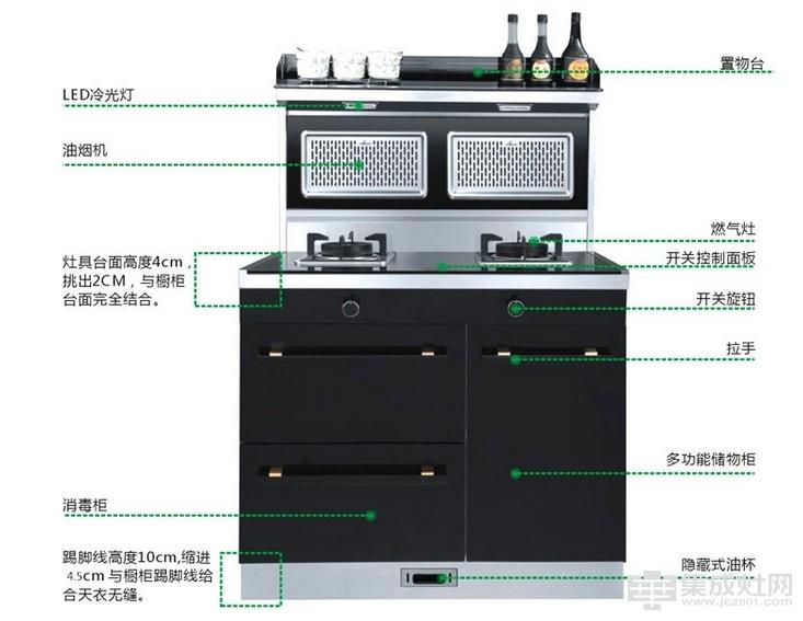 金帝集成灶G900系列