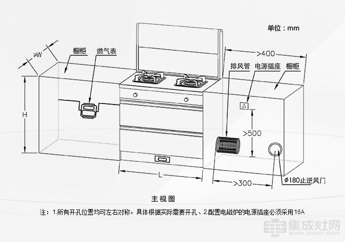 科太郎集成灶5S系列