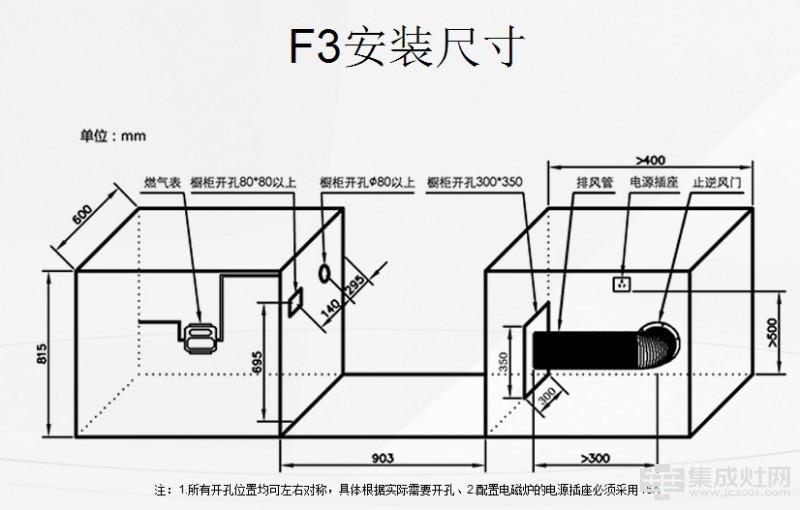 科太郎集成灶F3
