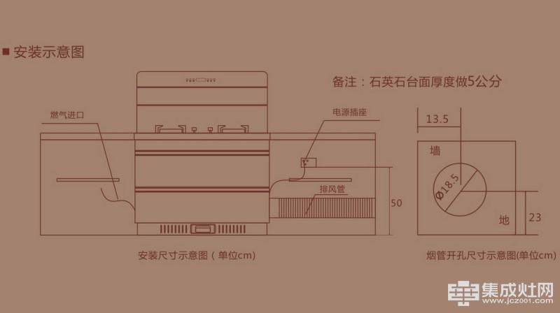 百大集成灶K900