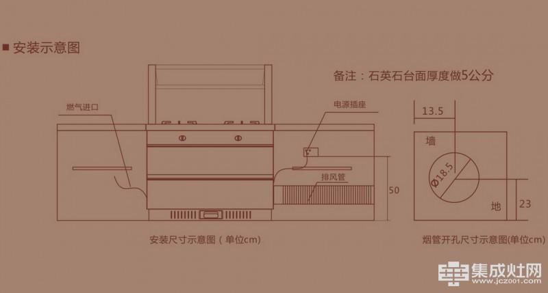 百大集成灶D900