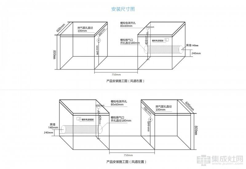 蓝享集成灶尚酷·T5