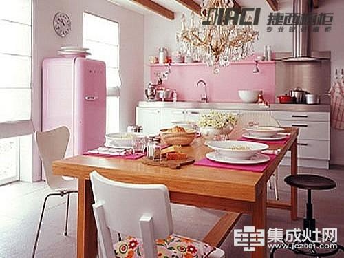 色彩厨房更旺家 厨房装修颜色风水讲解