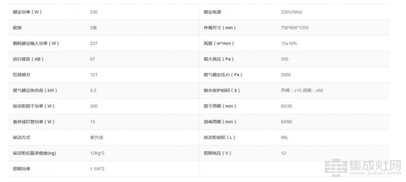 海尔集成灶JJZT-JE7C(12T)