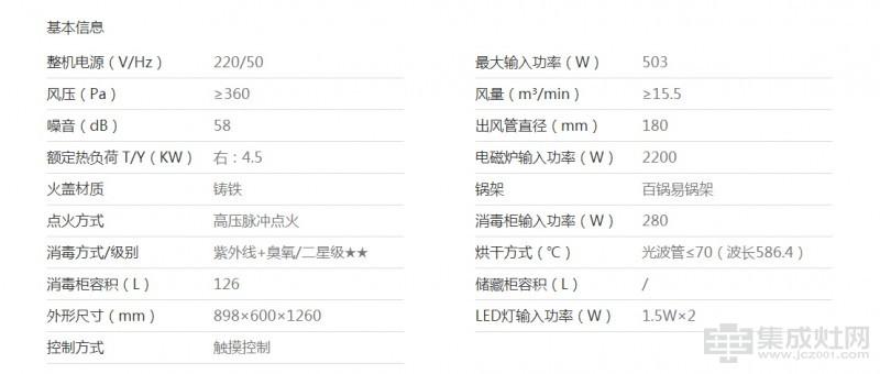 普田集成灶509AE(S)