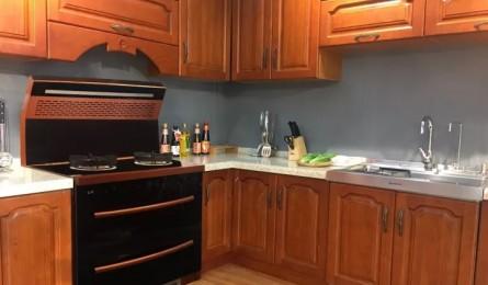 金帅集成灶为您的厨房做减法