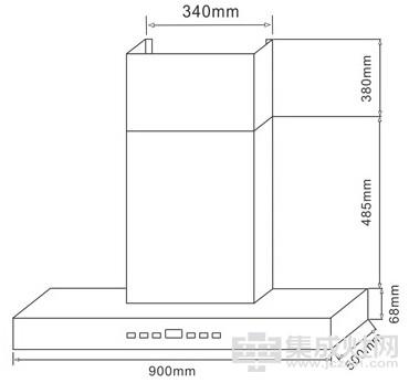 莫尼油烟机CXW-220-B403