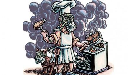 油烟大作战 集成灶还原厨房本色