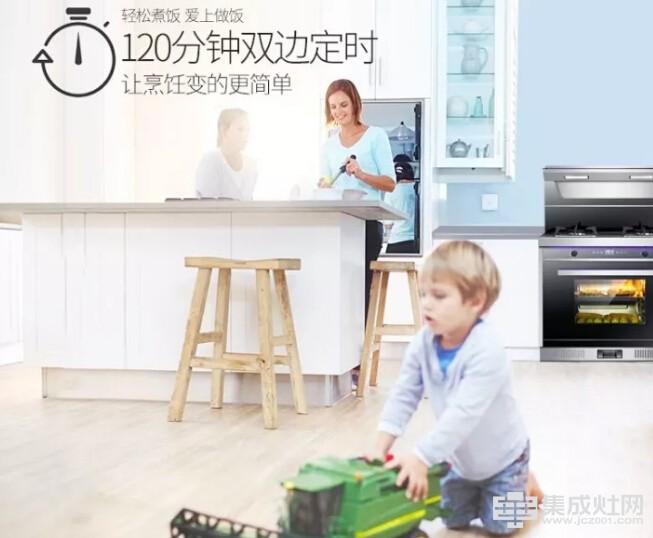 金帅:这么多厨房电器 为什么偏偏选择集成灶