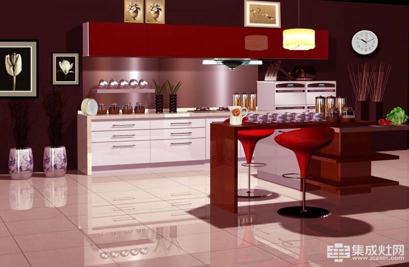 柏优橱柜带你认识什么是整体厨房