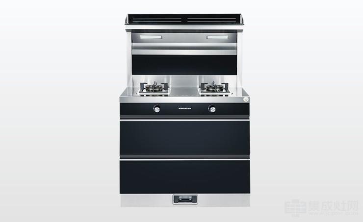 金帝集成灶G900B一秒净烟 从此放心做敞开式厨房