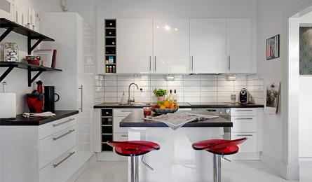 五种不同风格的厨房设计 橱柜设计精致巧妙