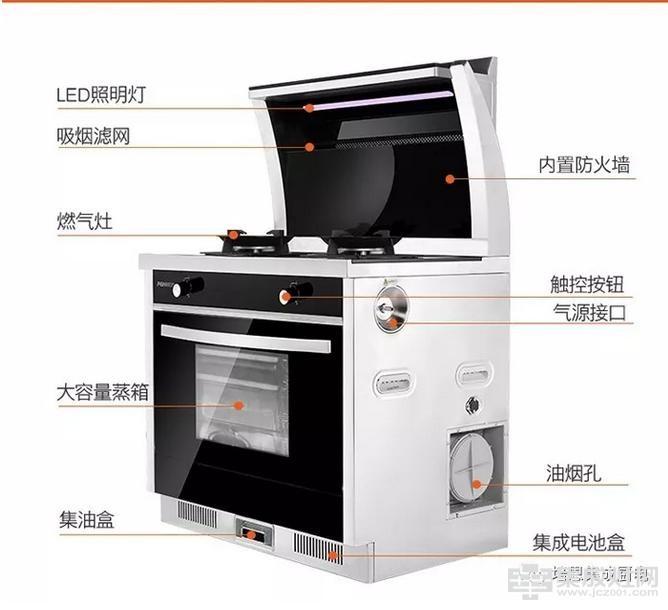 培恩集成灶 蒸箱升级款之PN-ZX03