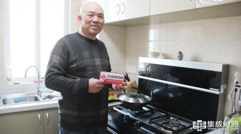 杨先生的厨房保养秘诀 一日三餐用森歌集成灶