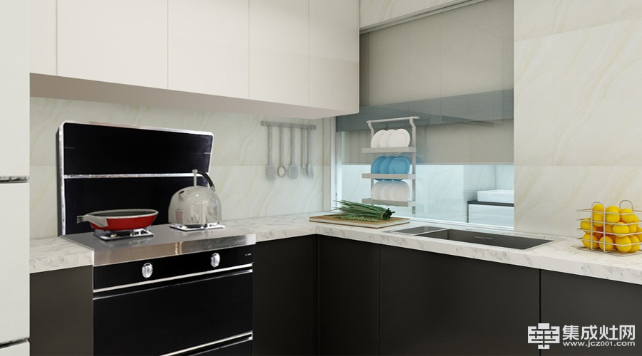 伊歌集成灶造就大空间 小户型厨房首要之选