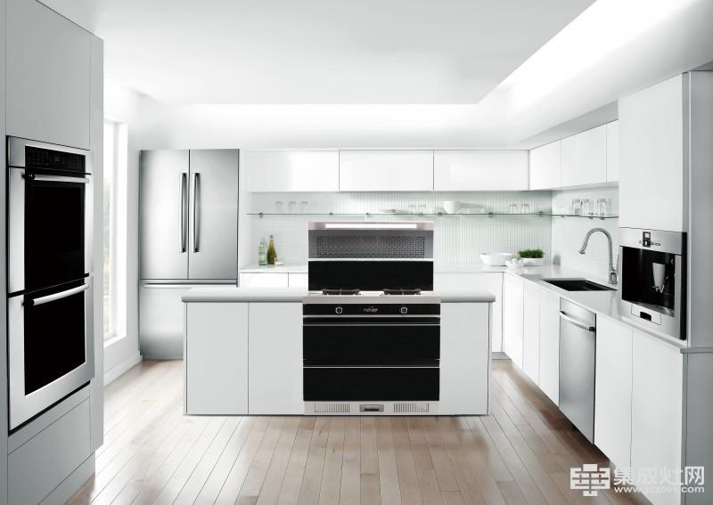 欧诺尼集成灶:气质厨房 也可以很时尚