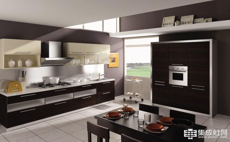 四种风格的厨房橱柜 紧跟2018定制橱柜潮流