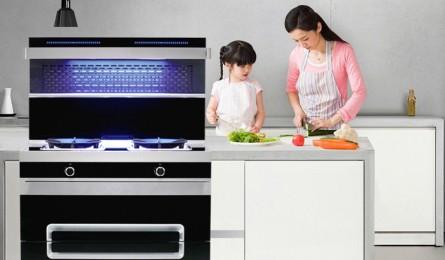 欧诺尼集成灶 用无烟厨房开启绿色健康生活方式