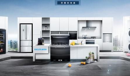 威可多集成灶:厨房空间的提升利用