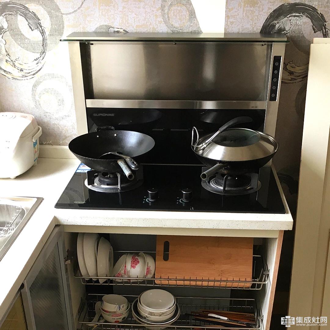 尚品分体式集成灶:因人制宜 完美定制高品质厨房