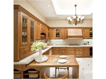 品尚若金 经典美式全实木整体橱柜