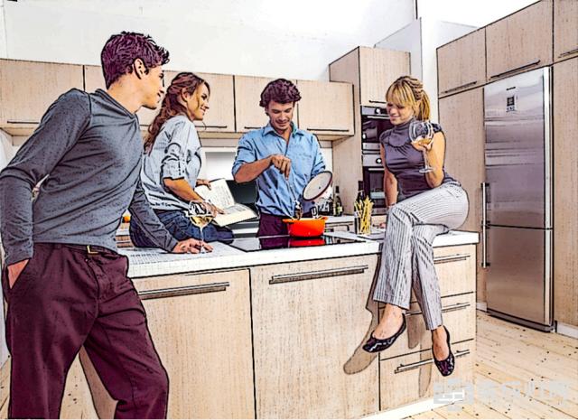 开放式厨房 怎么才能无所顾忌