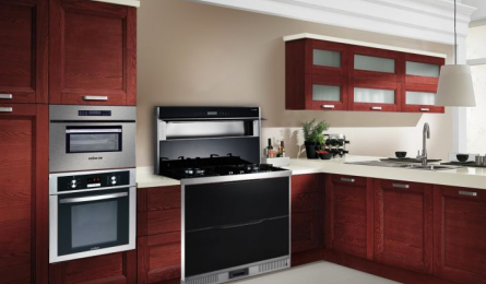 亿田集成灶:小户型的厨房 如何布局才能有高级质感