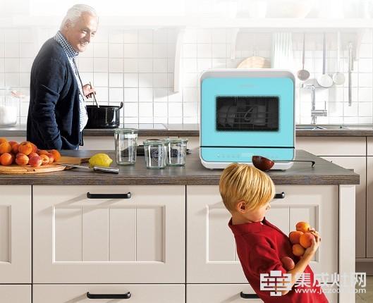 颜值爆棚 净享时光:亿田台式洗碗机惊艳上市