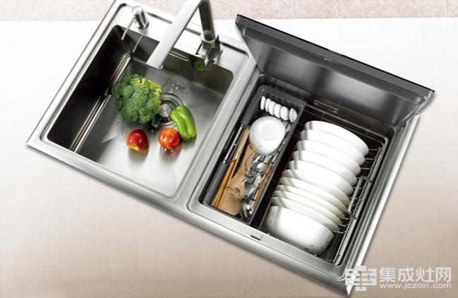 选择森歌集成灶洗碗机的生活方式 内外兼得