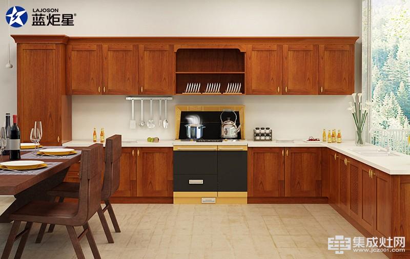 蓝炬星集成灶 打造美观又实用的开放式厨房