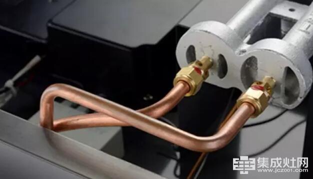 板川集成灶之不平凡的紫铜进气管工艺