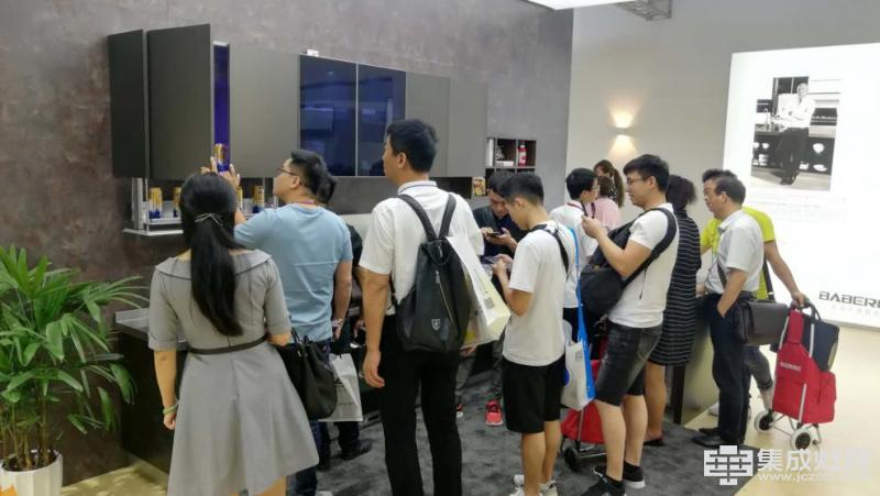 班贝格不锈钢厨柜2018上海厨卫展精彩看点