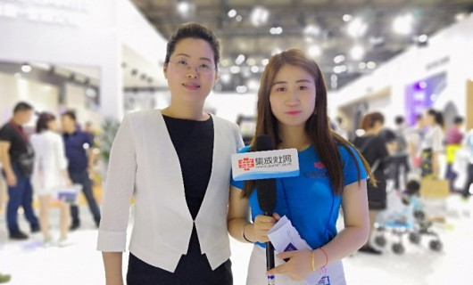 【上海展】帅康集成灶品牌总监赵红霞:产品智能化提升 展现年轻科技一体化小帅形象