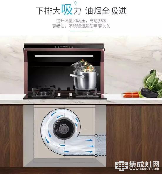 厨房有一股让人卸下疲惫的魔力 它来自博净分体式集成灶