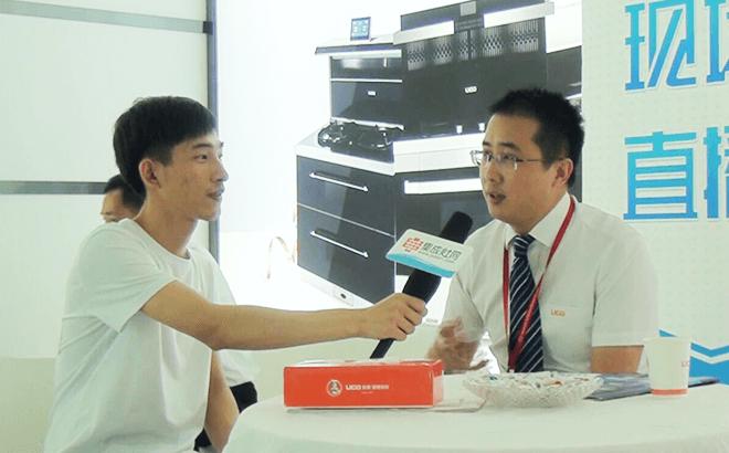【上海展】优格集成灶营销总监钱立成:加大品牌升级投入 打造优格产品新未来 (557播放)