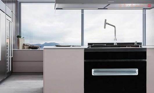 开创集成厨房新时代 金帝碗柜式集成水槽S900L新品上市