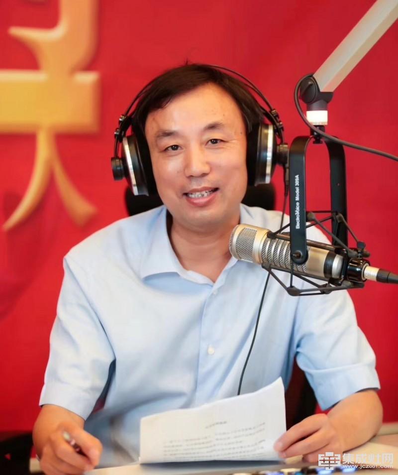 """""""FM·浙江之声""""专访亿田集成灶孙伟勇"""