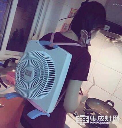 """安居星集成灶""""为你解决夏日忧愁"""""""