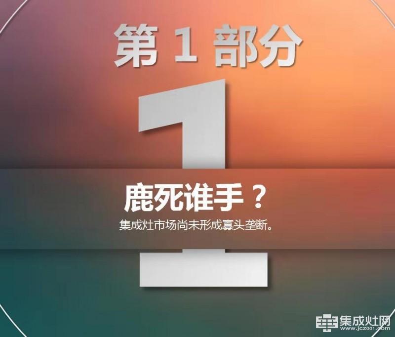 群雄逐鹿:智库19年集成灶行业预测