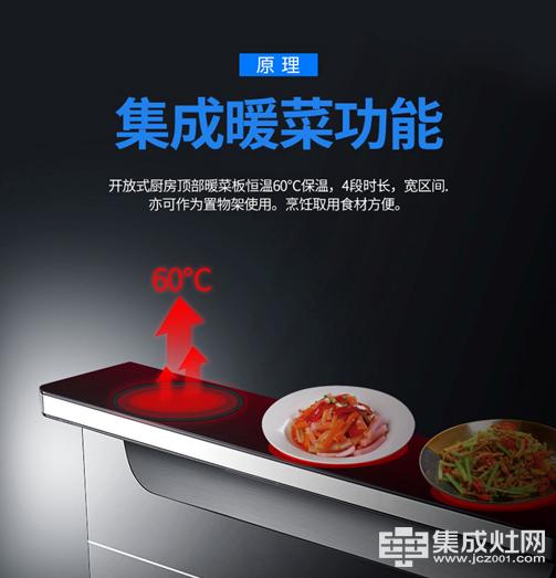 集成灶:菜做多了怕凉怎么办?没关系安居星来帮你