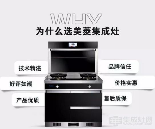 """美菱集成灶:助您打赢厨房""""无烟""""攻坚战"""