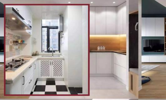 奥田:实用百搭的L型厨柜 98%的户型都适用